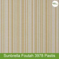 Sunbrella Foutah 3978 Pastis