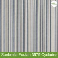 Sunbrella Foutah 3979 Cyclades