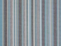 Sunbrella Stripes 3776 Porto Blue Chine